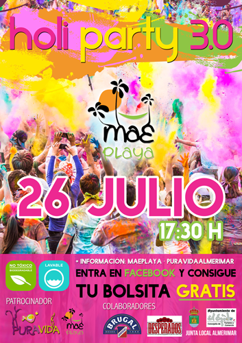 holi party almerimar