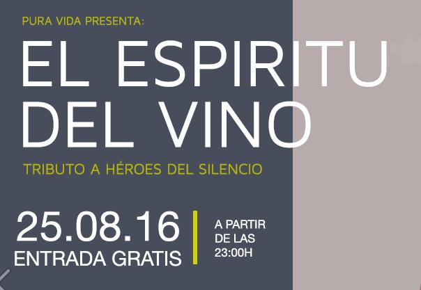 25 Agosto: Concierto El Espiritu Del Vino